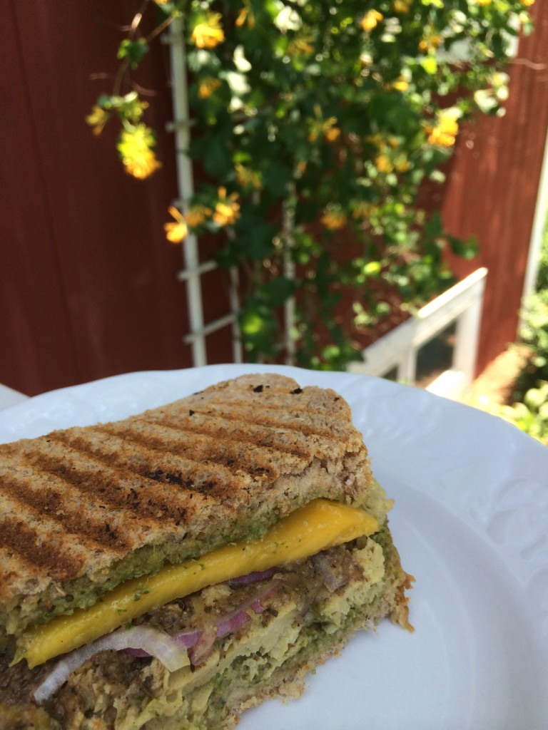 Jamaican Pressed Sandwich