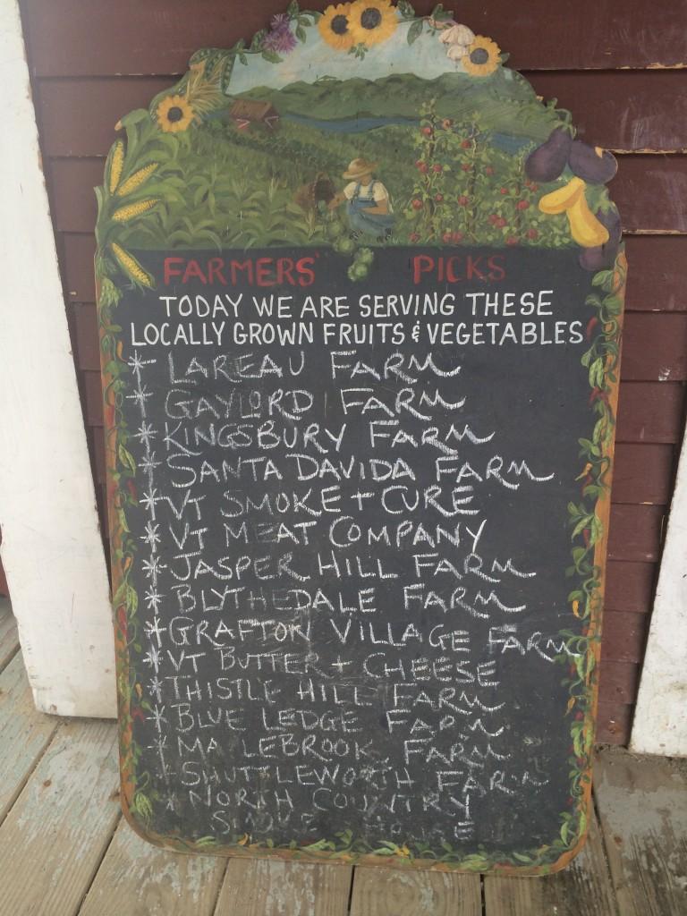 Farm Produce Suppliers- American Flatbread