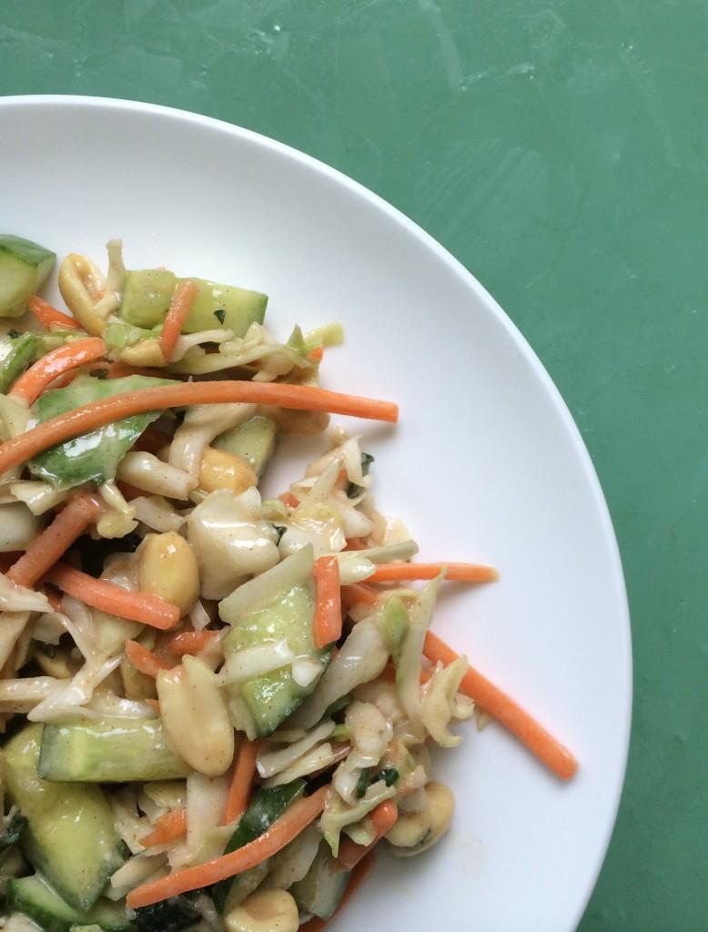 Vegan Asian Cabbage Salad