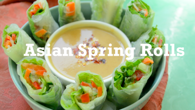 Vegan Asian Spring Rolls