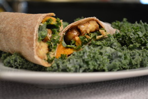 Tempeh Sweet Potato Wraps