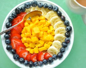 Oatmeal Bowl with Fresh Fruit