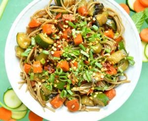 Japanese Soba Noodle Bowl