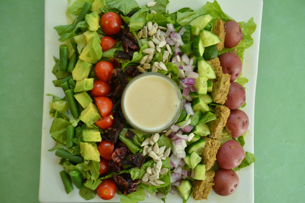 Plant Pure Kitchen Creamy Mustard Dressing Cobb Salad