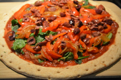 Beantown Kitchen: Tuscan Pizza- vegan, wfpb, engine 2 crust
