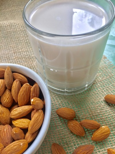Home Made Almond Milk: vegan, plant-based, gluten free