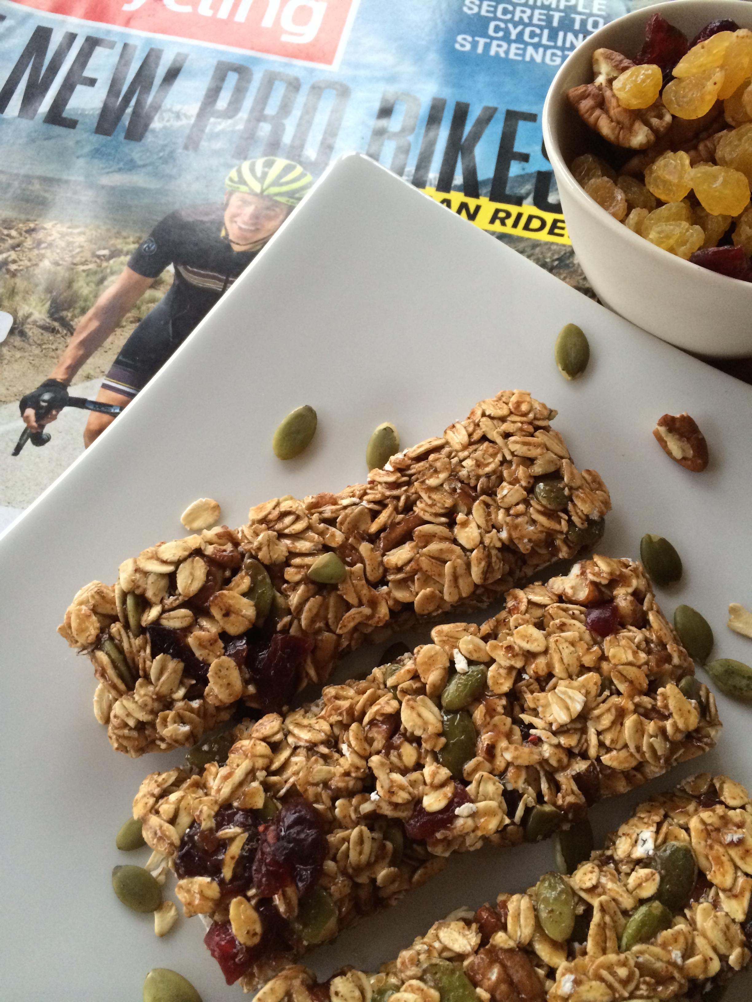Nutrition Bars Fit for a Triathlete