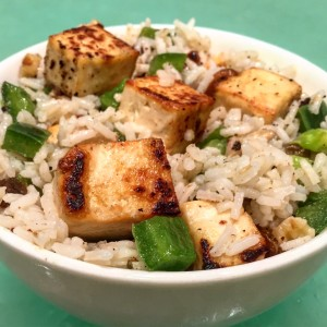Oriental Tofu Salad