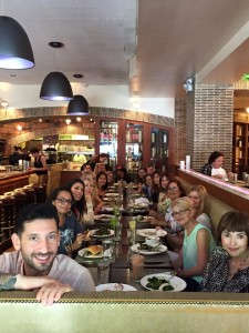 Final Main Street Vegan Academy Lunch with Victoria Moran and Joshua Katcher at Candle Cafe West
