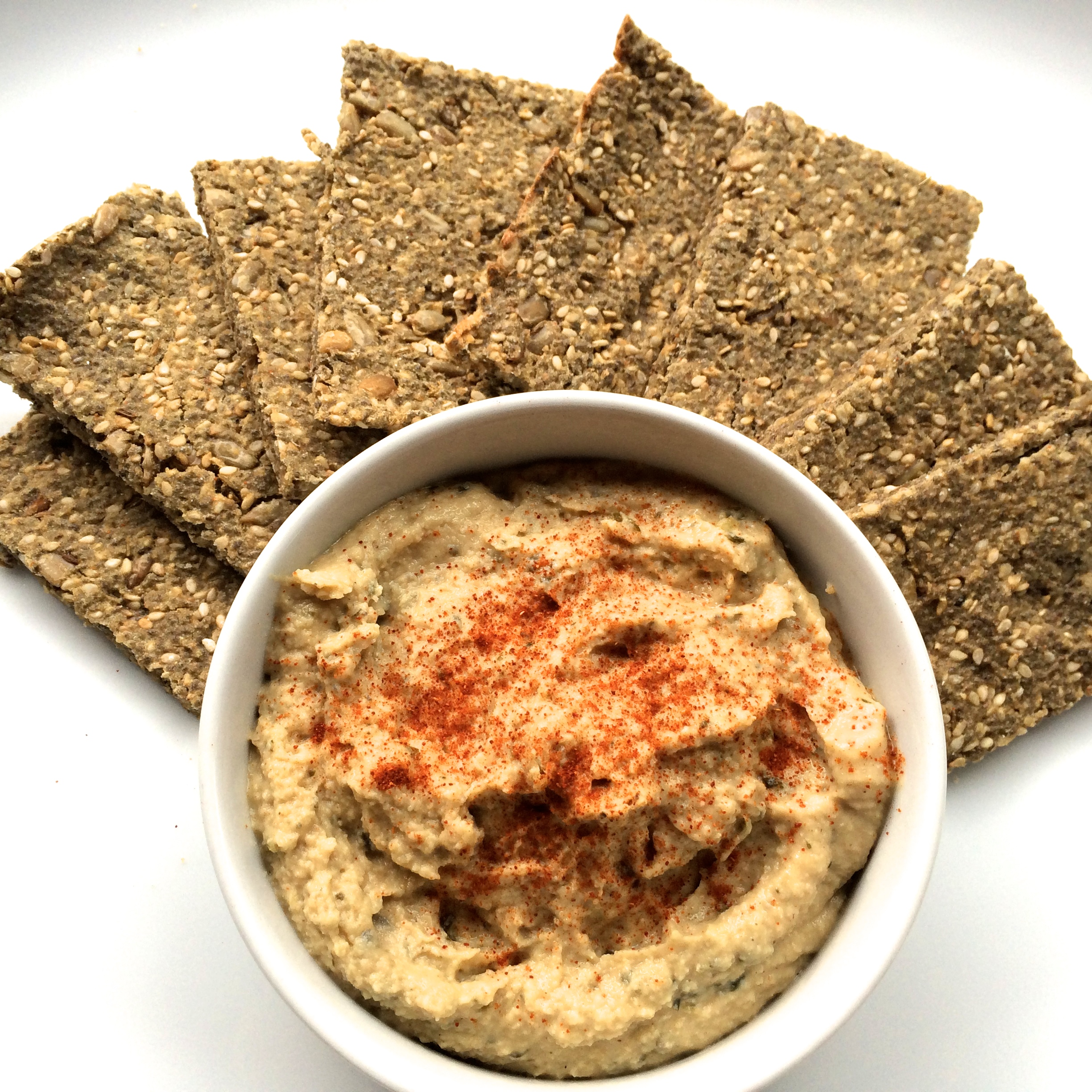 Nutrient Rich Quinoa Crackers