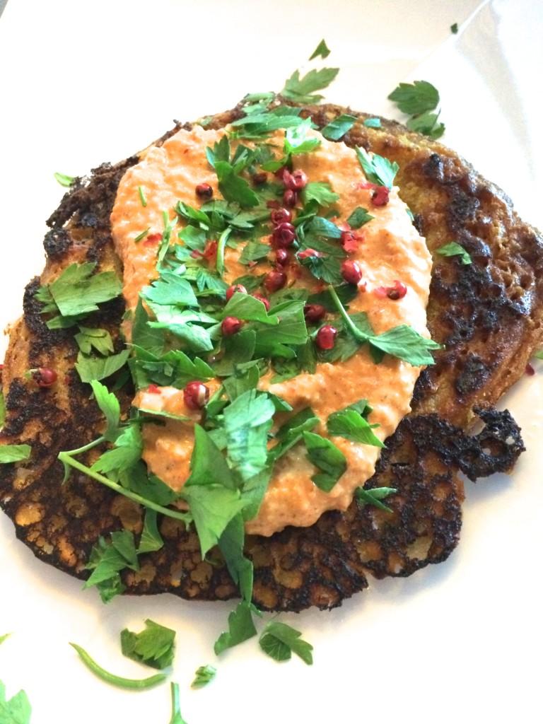 Socca- Chickpea Pancake