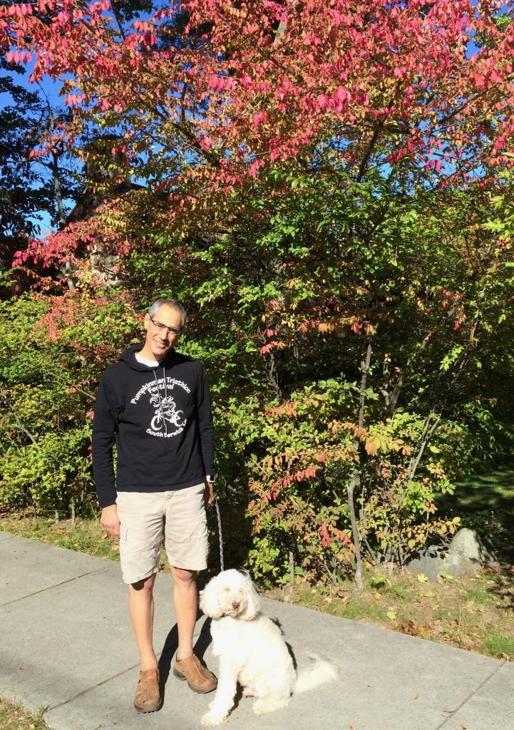 Dan, Jordie and Foliage