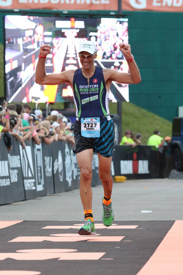 Race Report from a Vegan Iron Spouse