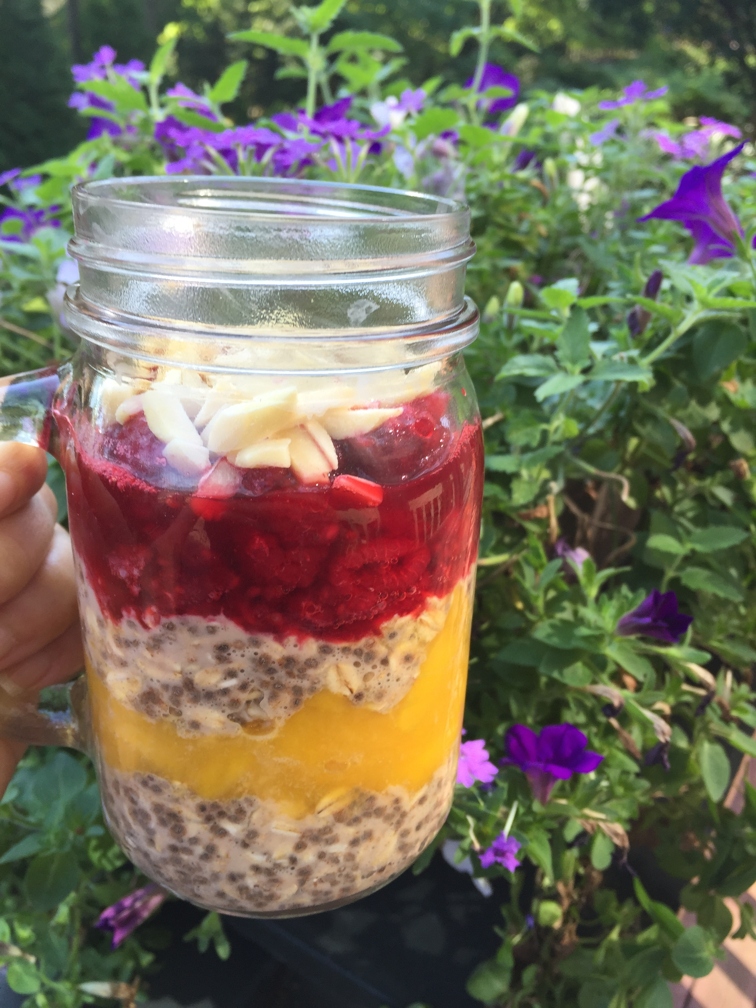 Oat and Chia Parfait