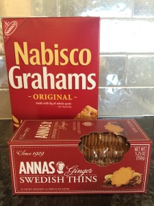 Nabisco Grahams and Anna's Swedish Cookies