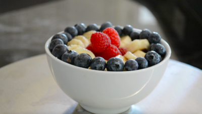 Easy-to-prepare, healthy, Plant-based Oatmeal Bowl
