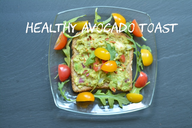 Plant-based Healthy Avocado Toast