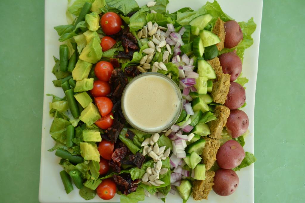 Plant Pure Kitchen Creamy Mustard Dressing Cobb Salad