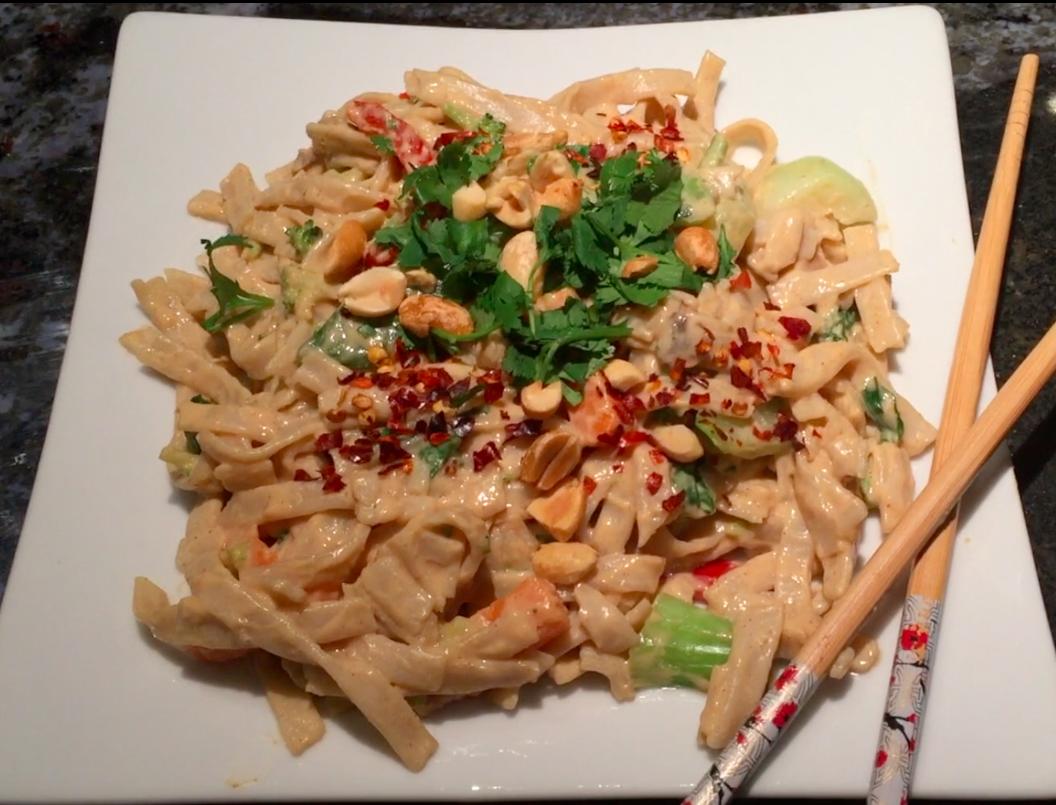 Pad Thai – Peanut Noodle Stir Fry