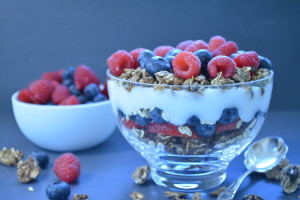 Vegan Iron Rich Granola Parfait