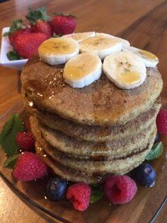 Fluffy Quinoa Pancakes