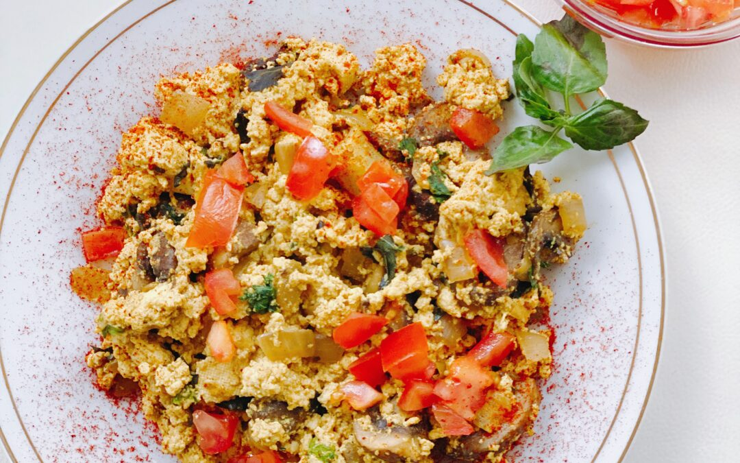 Shroomy Tofu Scramble