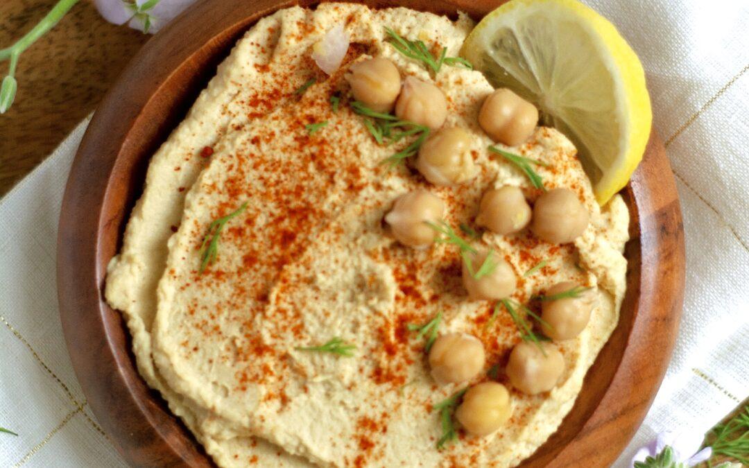 Simple Oil-Free Hummus