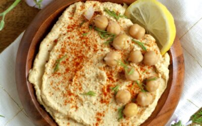 Simple Oil-Free Hummus
