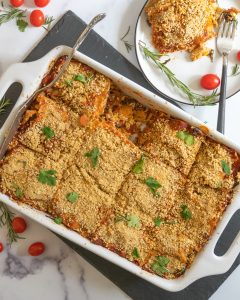 Beantown Kitchen's Hearty Baked Lasagne