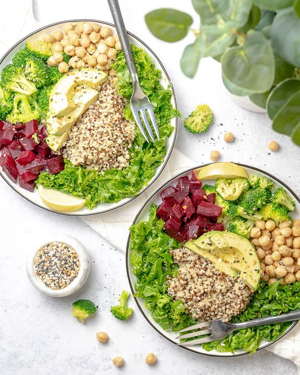 Super Nourishing Lemon Tahini Bowl